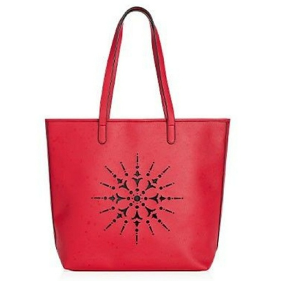 dc88fcb329e4f9 Crabtree & Evelyn Bags | Crabtree Evelyn Red Medallion Tote | Poshmark